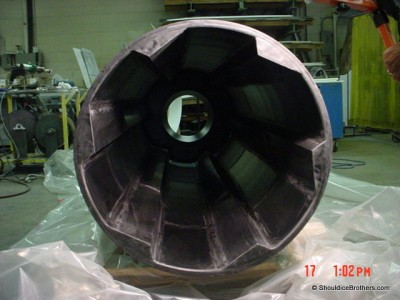 Anti Static UHMW Coating Drum