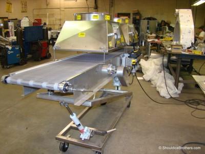 Articulating Wire Mesh Conveyor