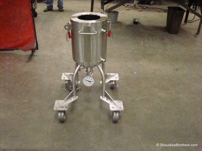 Liquid Scale Cart