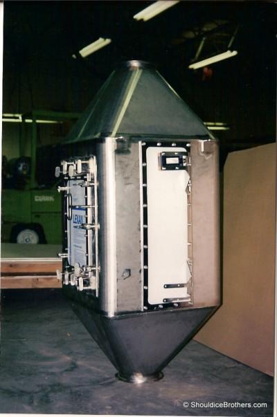 Stainless Steel Food Surge Tank